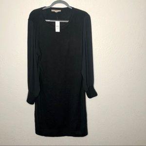 NWT Loft Plus Dress Long Sheer Sleeve Size 20/22